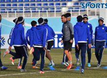 Официальная тренировка команды «Аль-Вахда» (Фото)