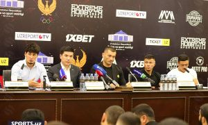 """""""Muradov Professional League"""". Press conference before the first event was held in the NOC (photo gallery)"""