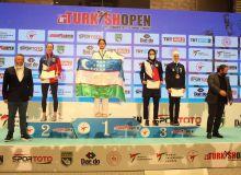 """Сборная Узбекистана завершила """"Turkish Open"""" с восемью медалями"""