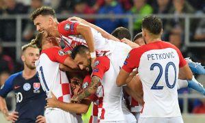 Словакия - Хорватия 0:4 (видео)