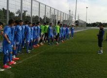 Молодежная сборная Узбекистана приступила к сборам