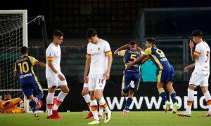 Первое поражение «Ромы» в сезоне. Шомуродов вышел в стартовом составе составе (Видео)