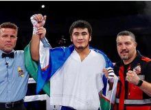Санжар Турсунов начал профессиональную карьеру с победы