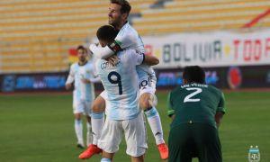 Аргентина Месси голисиз ҳам ғалаба қозонди (видео)