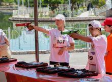 В столичном «Эко-парке» прошёл турнир «Laser Run»