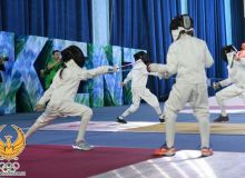 Central Asia Fencing Confederation Championship launches in Tashkent