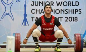 Оғир атлетика. Акбар Жўраев даст кўтаришда жаҳон рекордини янгилаб, олтин медалга эга чиқди