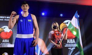 Video. Uzbekistan's Jakhongir Zokirov downs Armenia's Hovhannes Papazyan to claim World Championship title