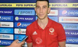 Шароф Мухитдинов: Забитый гол – это заслуга всей команды