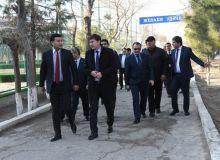 Президент НОК посетил базу футбольного клуба «Бухара»
