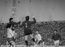Исторический факт: 19 сентября прошел первый международный матч на стадионе