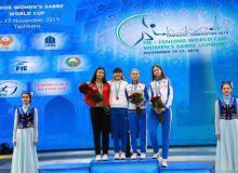Зайнаб Дайибекова завоевала золотую медаль кубка Мира