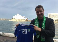 Австралийский болельщик сборной Узбекистана: «В матче против Австралии я болел за сборную Узбекистана»
