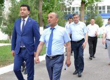 МОҚ президенти Ўзбекистон давлат жисмоний тарбия Университетидаги шароитлар билан танишди
