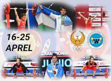 Определился состав тяжелоатлетов, которые примут участие в чемпионате Азии