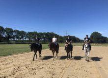 Состав команды Узбекистана по конному спорту на Азиатские игры