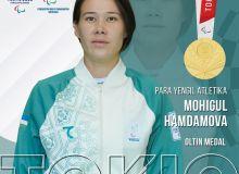 Mokhigul Khamdamova grabs third gold medal for Uzbekistan in 2020 Paralympics