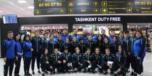 """Женская сборная Узбекистана на """"Festival Women's Trophy 2021"""" в Анталии."""
