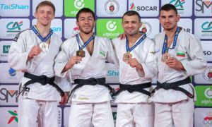 Uzbek judokas finish second place at Marrakech Grand Prix 2019