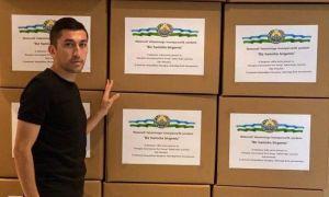 Одил Ахмедов отправил в Узбекистан средства защиты для медиков