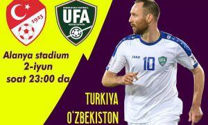 АФУ предоставит бесплатные билеты для болельщиков на товарищеский матч Турция – Узбекистан