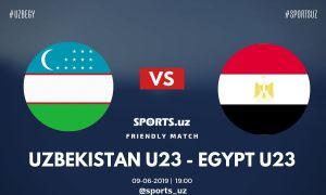 Видеообзор голов в матче между олимпийскими сборными Узбекистана и Египта