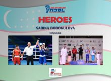 ASBC Heroes – Uzbekistan's multiple international event winner Sabina Bobokulova