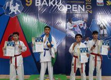 Baku Open-2018: Каратисты Узбекистана продолжают завоевывать медали