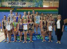 Итоги чемпионата Узбекистана по художественной гимнастике