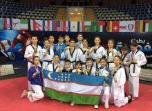 Таэквондисты Узбекистана стали победителями и призерами международного турнира