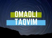 """""""Omadli taqvim"""" o'yinining ikkinchi soni boshlandi (matnli+videotranslyatsiya)"""