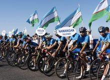 В Бостанлыке стартовал чемпионат Узбекистана по велошоссе