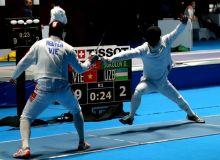 Азиатские игры: Двое шпажистов Узбекистана завершили свое участие