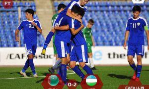 Сборная Узбекистана – бронзовый призёр турнира «CAFA U-19 championship-2019»