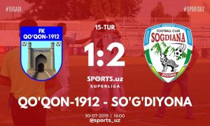Match Highlights. FC Kokand 1-2 FC Sogdiana