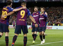"""""""Барселона"""" - """"Лион"""" 5:1 (видео)"""