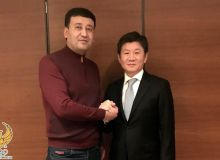 Умид Ахматджанов и президент ассоциации футбола Южной Кореи обсудили пути развития футбола в Узбекистане