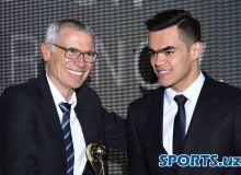 Uzbekistan's best honoured at the 2018 PFL Annual Awards