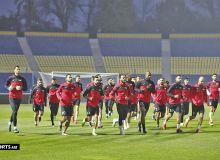 Фото: Как сборная Палестины провела официальную тренировку?