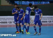 Футзал: Ўзбекистон Чемпионати 1-тур, учинчи кунги натижалар