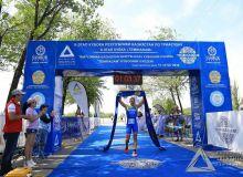 Триатлончимиз Тараздаги турнирнинг абсолют ғолибига айланди
