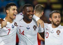 Роналду бутун Португалия терма жамоаси футболчиларидан 3 баробар кўп гол урган