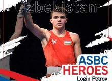 ASBC Heroes – Uzbekistan's fantastic boxer from the 2003 age group, Login Petrov