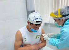 Продолжается вакцинация спортсменов
