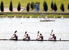 В Самарканде проходят соревнования по академической гребле