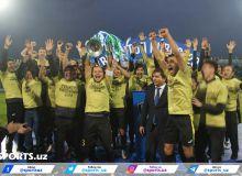 Awarding Ceremony. 2018 Uzbekistan Cup Final
