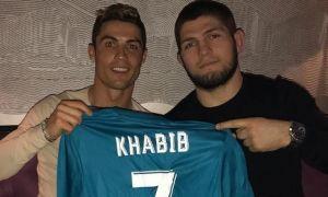 Роналду: Хабиб ғалаба қозонади, у менинг укам, Иншааллах (видео)