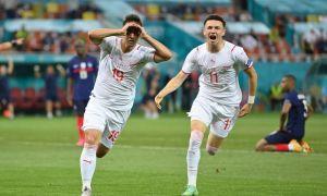 Евро-2020. 6 та гол урилган ўйинда Швейцария пенальтилар сериясида Францияни мағлуб этди