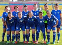 Учебно-тренировочный сбор женской молодёжной сборной Узбекистана U-19.