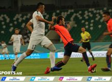 FC Bunyodkor escape from a defeat through Davron Umirov
